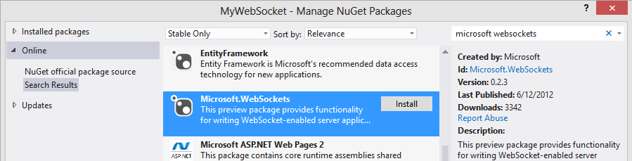 HTML5 Tutorial – WebSocket Server (on ASP NET) – CloudDays